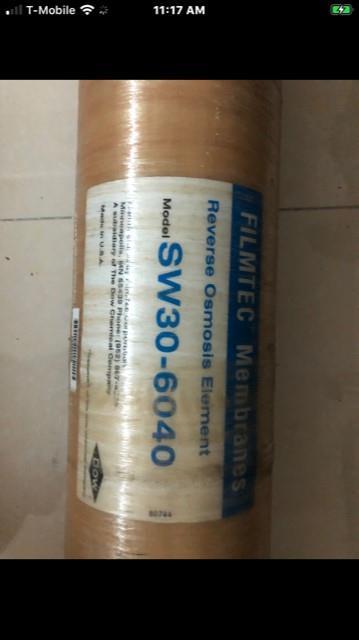 Image Seawater Reverse Osmosis (SWRO), 600 gph 1500091
