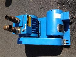 134738 - 1.5 HP HULL HBV-18 Belt Driven Rotary Vane Vacuum Pump