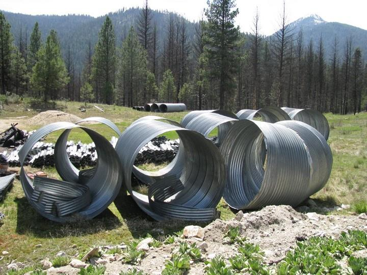 Corrugated Steel Pipe (Lot) NEVER USED