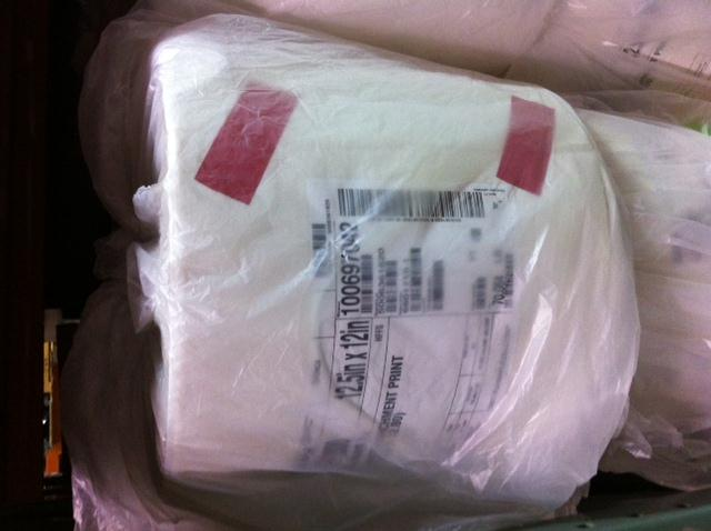 CRYOVAC Horizontal Packaging Film Rolls White Parchment Style 12.5""