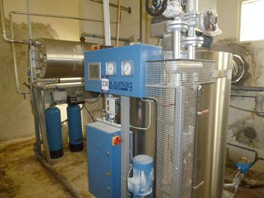 Image 400kw Steam Generator w/ Oil Burner 352362