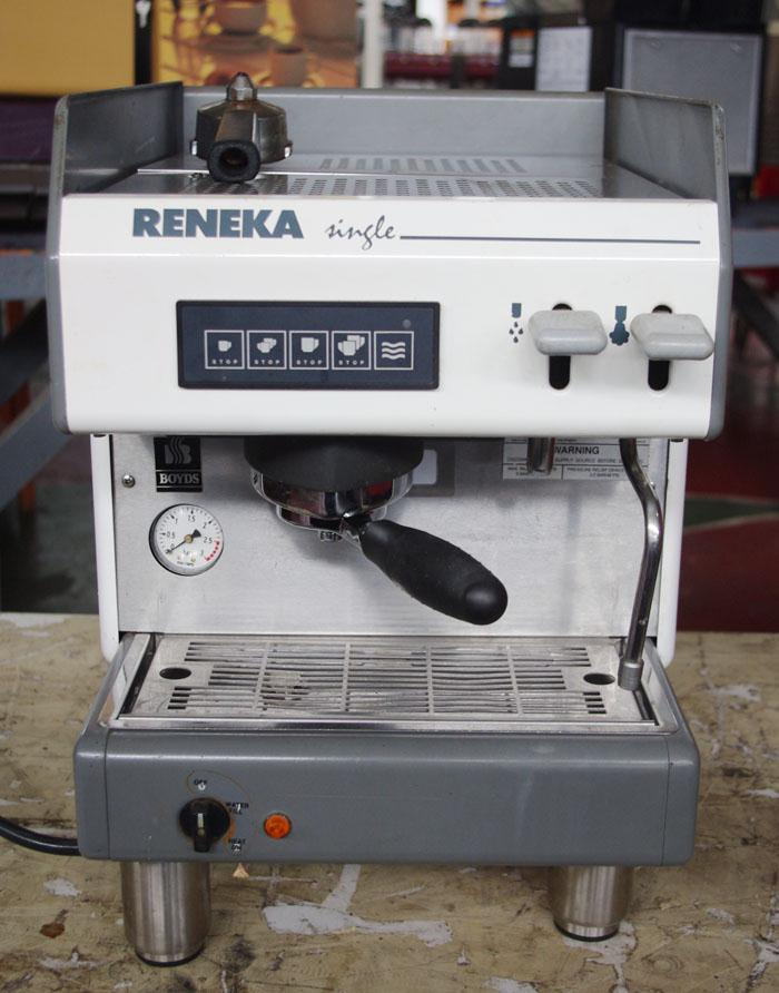 RENEKA 1-Group Espresso Cappuccino Mocha Latte Machine