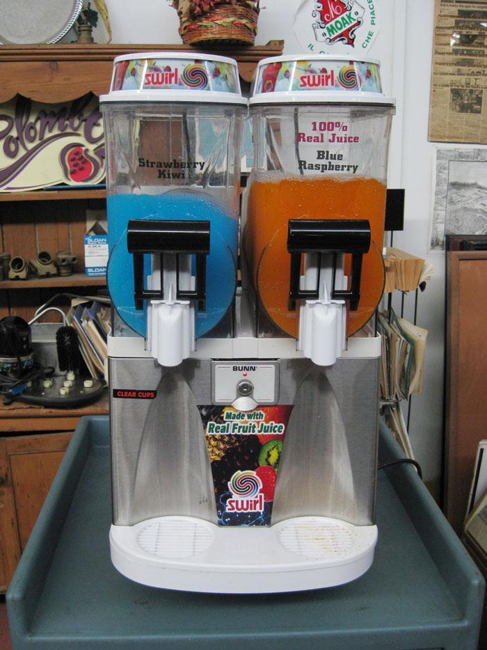 BUNN 2-Bowl Granita, Slush, Margarita Machine