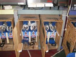 135678 - 4 Slushy Machines and 4 Crates with 25 Cases of Mix