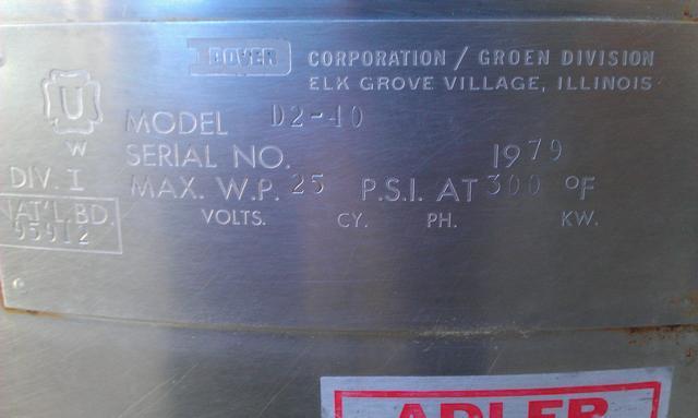 Image 50 Gallon Kettle 353590