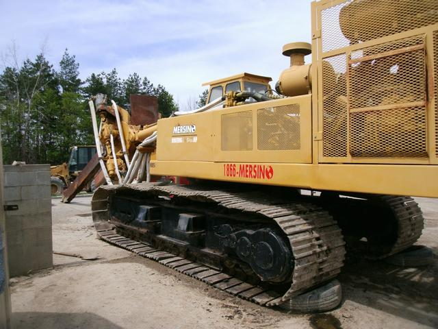 850 HP AMERICAN 35A Trencher Built on Excavator Chassis