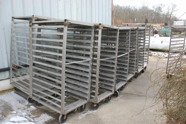 Image Heavy Duty Racks with 8in Casters - Stainless Steel 407187