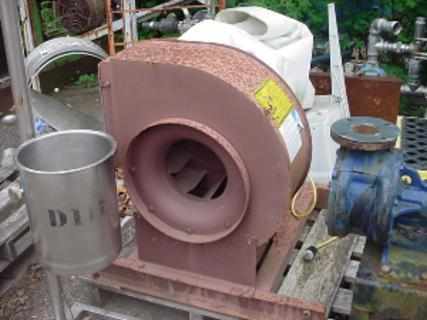 Image .33 HP BUFFALO FORGE Mild Steel Centrifugal Blower 355073