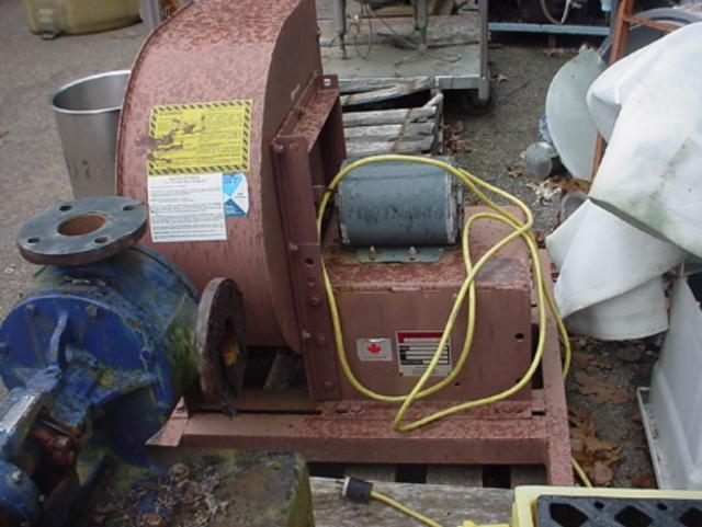 Image .33 HP BUFFALO FORGE Mild Steel Centrifugal Blower 355074