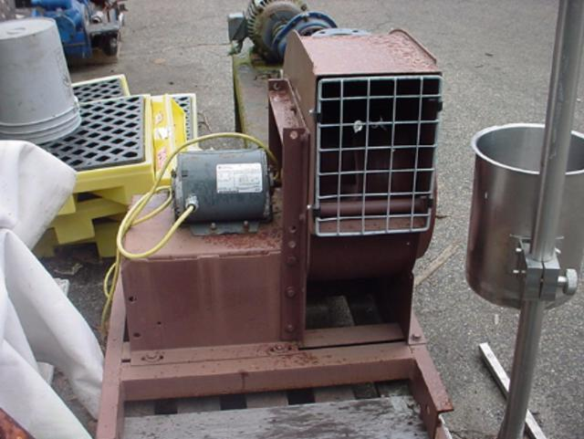 Image .33 HP BUFFALO FORGE Mild Steel Centrifugal Blower 355075