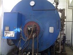 137791 - 6 Ton Water Tube Steam Boiler, Gas Fired