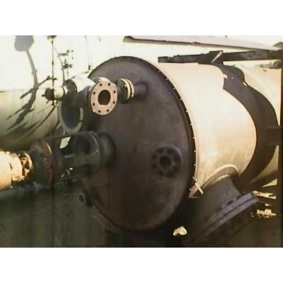 2000 Gallon PATTERSON KELLEY Stainless Steel Tank w/ Turbine Agitator