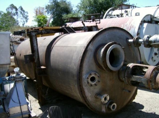 Image 2000 Gallon PATTERSON KELLEY Stainless Steel Tank w/ Turbine Agitator 387335