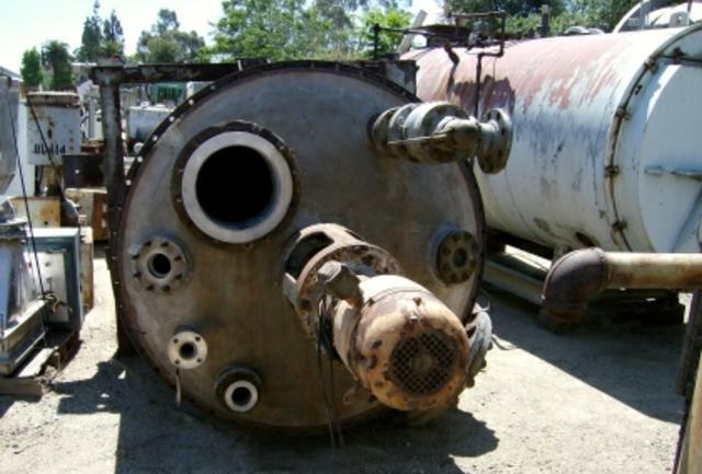 Image 2000 Gallon PATTERSON KELLEY Stainless Steel Tank w/ Turbine Agitator 387336