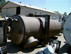 Image 2000 Gallon PATTERSON KELLEY Stainless Steel Tank w/ Turbine Agitator 387337