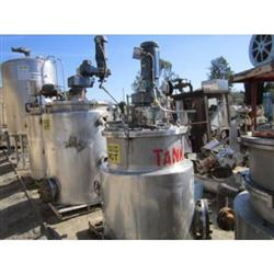 Image 150 Gallon CE HOWARD 304 Stainless Steel Reactor 356709