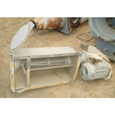 "6"" X 24"" PRATER Stainless Steel Rotary Screener"