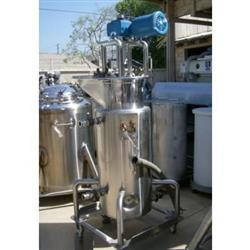 138275 - 20 Gallon Jacketed Stainless Steel Tank