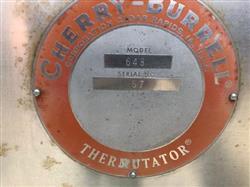 "Image 6"" X 48"" CHERRY BURRELL Model 648 Double Votator 1404987"