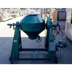 138454 - 3 CF PAUL O ABBE Conical Vacuum Dryer