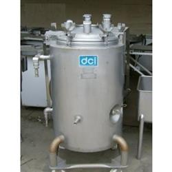 138710 - 40 Gallon DCI 316L Stainless Steel Jacketed Tank