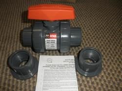 "138990 - 1 1/2"" HAYWARD True Union Ball Valve (Lot of 10)"