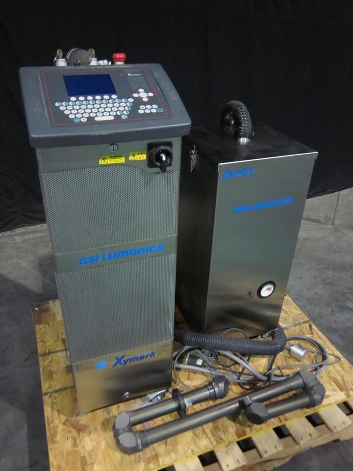 XYMARK Laser Coder w/ Vacuum