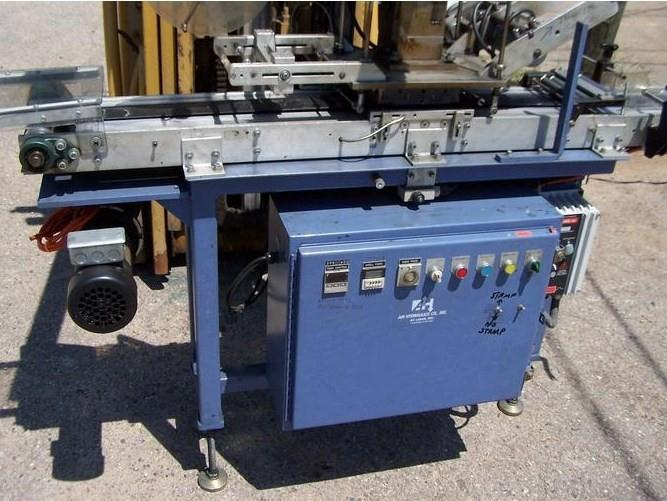 AIR HYDRAULICS INC Hot Stamp Press w/ Adjustable Conveyor