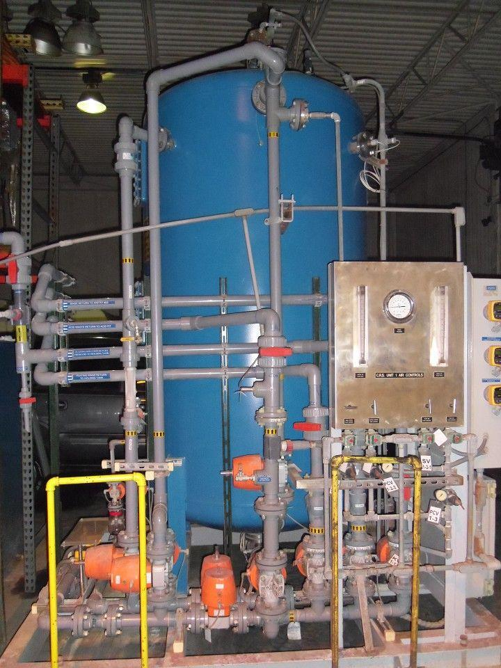 Industrial Custom Designed Ion Exchange System