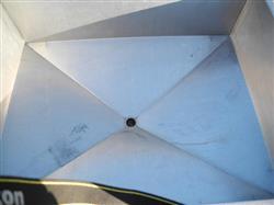 "Image 48"" X 54"" X 18"" Deep Stainless Steel Hopper 361594"