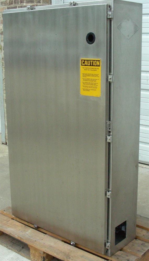 60 x 36 x 12 HOFFMAN Engineering SS Electrical Enclosure