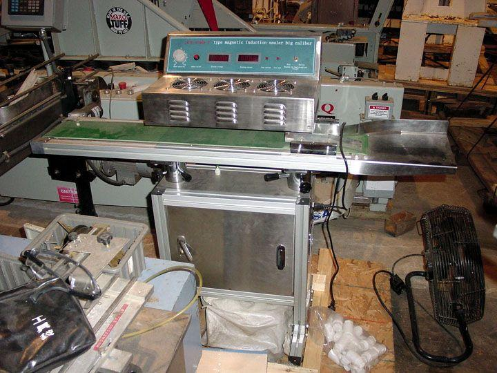 2KW SMK 800 DGY Automatic Induction Sealer, Unused
