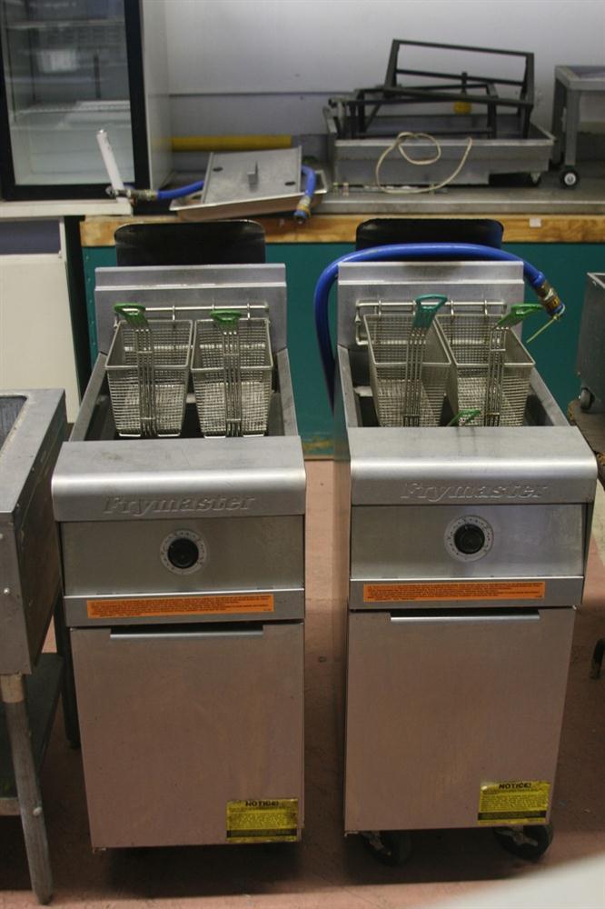 FRYMASTER Master Jet Pro Series Gas Deep Fryers Litre