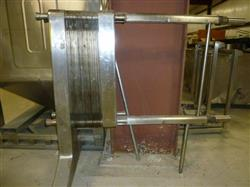 142209 - 54 Plates DELAVAL Stainless Steel Plate Heat Exchanger