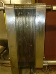 54 Plates DELAVAL Stainless Steel Plate Heat Exchanger