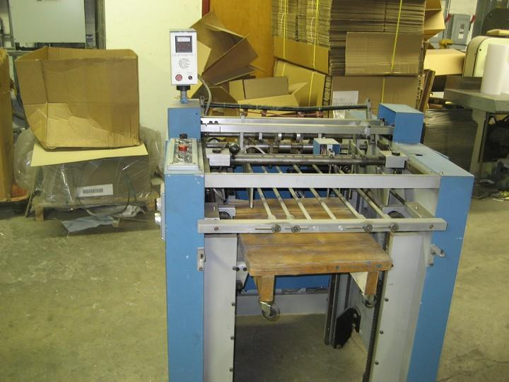 AGS Variable Sheeter/Stacker