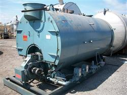 143155 - 150 HP WILLIAMS & DAVIS BOILER INC. 2- Pass Dryback Firetube Boiler