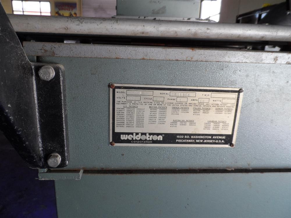 Image WELDOTRON Oven and Bar Sealer 1119964