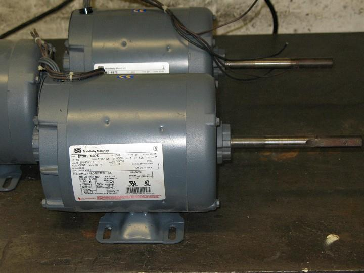 1/2 HP MIDDLEBY MARSHAL Electric Motor