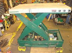 Image SOUTHWORTH Electric Scissor Lift w/Forward, Reverse, Cap. 12000 lbs 370268