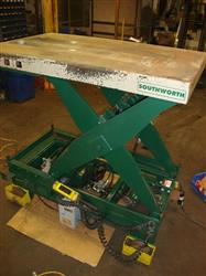 Image SOUTHWORTH Electric Scissor Lift w/Forward, Reverse, Cap. 12000 lbs 370271