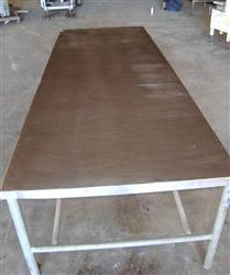 "144898 - 44"" x 120"" KOCH Stainless Steel Top Work Tables"