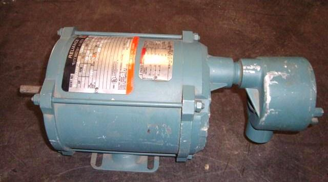 Image .25 HP RELIANCE AC Electric Motor 371875
