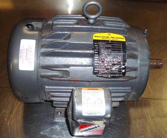 1 5 Hp Baldor Reliance Indu 144900 For Sale Used