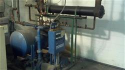 Image 200 HP INGERSOLL RAND Complete Piston Compressor System-Heat ex/Motor 373411
