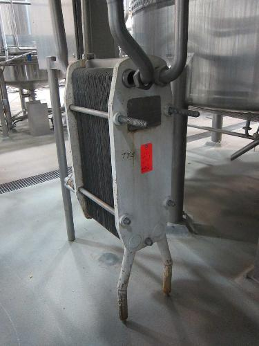 APV HXLA Stainless Steel Plate Heat Exchanger