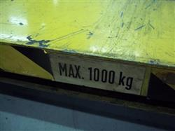 Image INTERLIFT Hydraulic Pallet Lift, Cap. 1000kg 376251