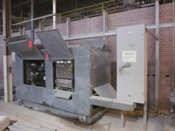 US DEPT OF NAVY Model J-126 Diesel Generator