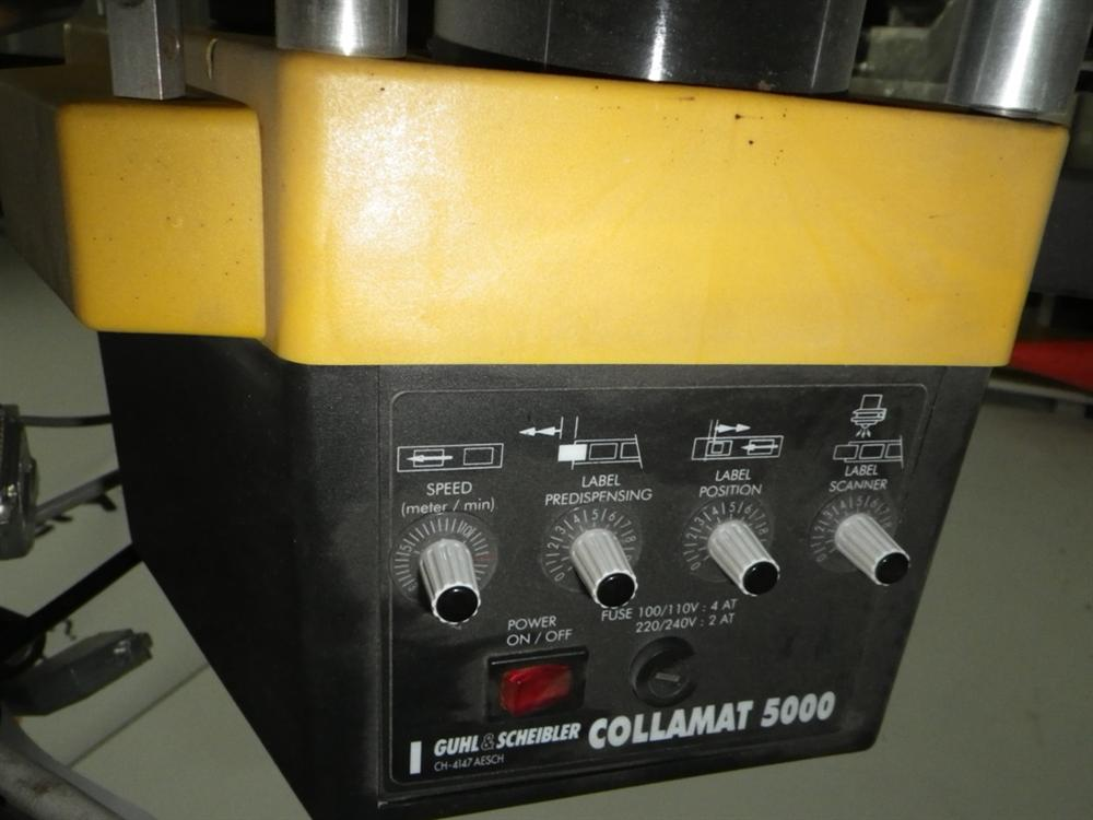 Image GUHL & SCHEIBLER Model Collamat 5000, Type C50 Print & Apply System 378304