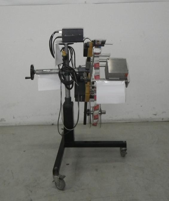 Image GUHL & SCHEIBLER Model Collamat 5000, Type C50 Print & Apply System 378335